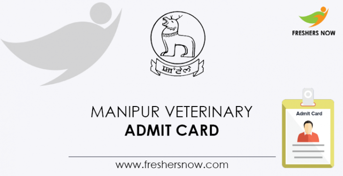Manipur-Veterinary-Admit-Card