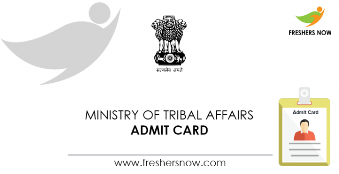 Ministry-of-Tribal-Affairs-Admit-Card