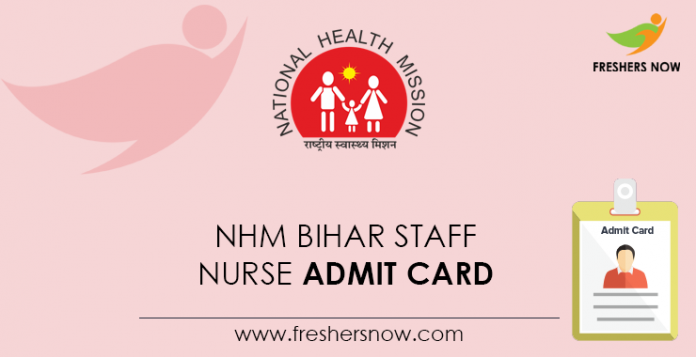NHM-Bihar-Staff-Nurse-Admit-Card