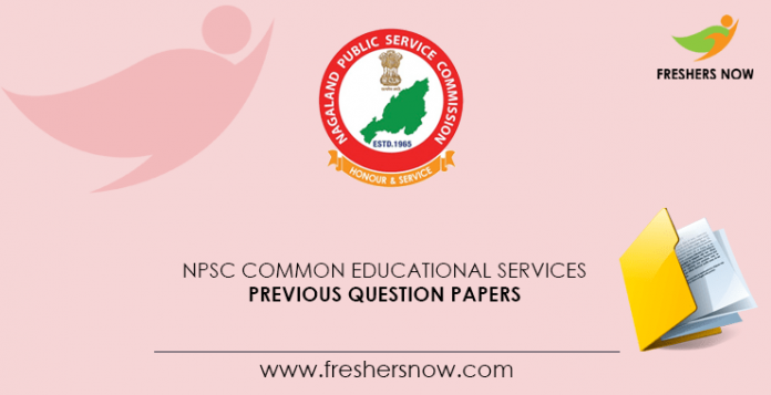 NPSC Common Educational Services Exam Previous Question Papers