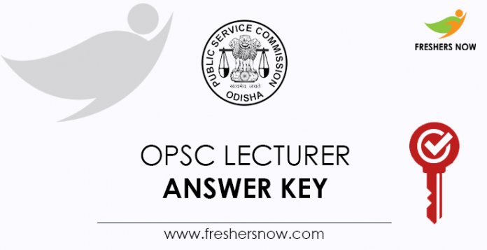 OPSC-Lecturer-Answer-Key