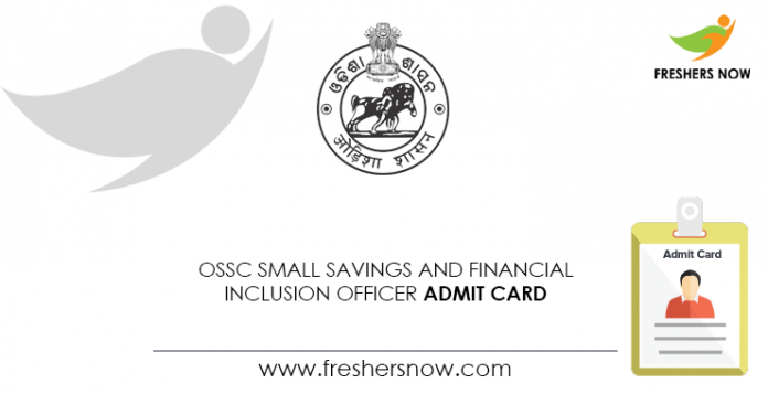 OSSC-Small-Savings-and-Financial-Inclusion-Officer-Admit-Card