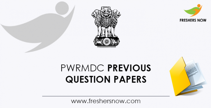 PWRMDC-Previous-Question-Papers