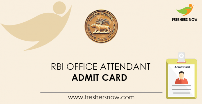 RBI-Office-Attendant-Admit-Card