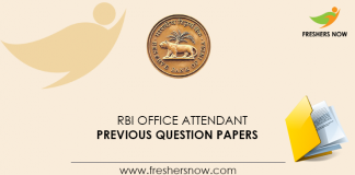 RBI-Office-Attendant-Previous-Question-Papers