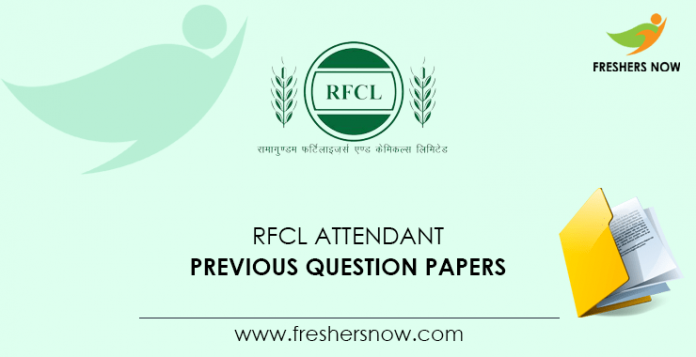 RFCL-Attendant-Previous-Question-Papers