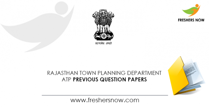 Rajasthan-Town-Planning-Department-ATP-Previous-Question-Papers