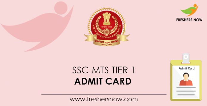 SSC-MTS-Tier-1-Admit-Card