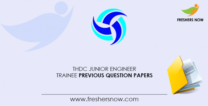 THDC-Junior-Engineer-Trainee-Previous-Question-Papers