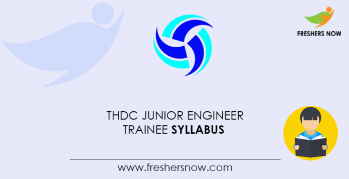 THDC-Junior-Engineer-Trainee-Syllabus