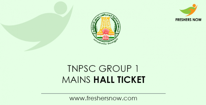 TNPSC-Group-1-Mains-Hall-Ticket