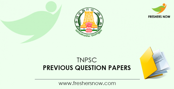 TNPSC-Previous Question Documents