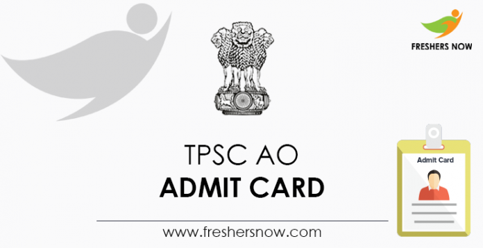 TPSC-AO admission card