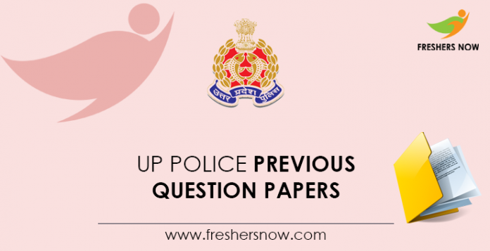UP Police Previous Question Papers