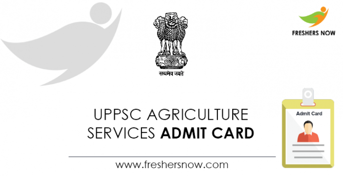 UPPSC-Agriculture-Services-Admit-Card