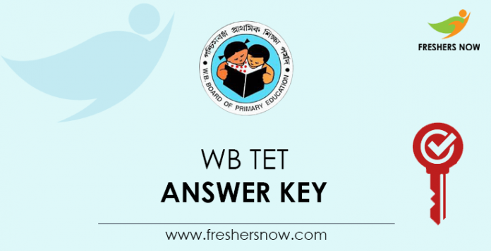 WB TET Answer Key
