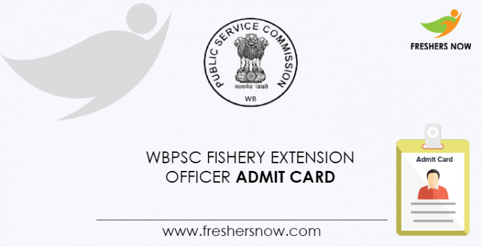WBPSC-Fishery-Extension-Officer-Admit-Card