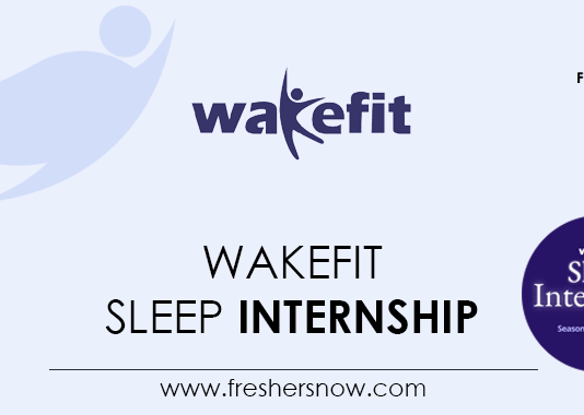 Wakefit Sleep Internship
