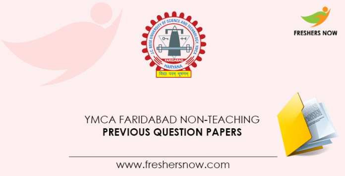 YMCA-Faridabad-Non-Teaching-Previous-Question-Papers