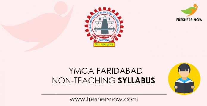 YMCA-Faridabad-Non-Teaching-Syllabus