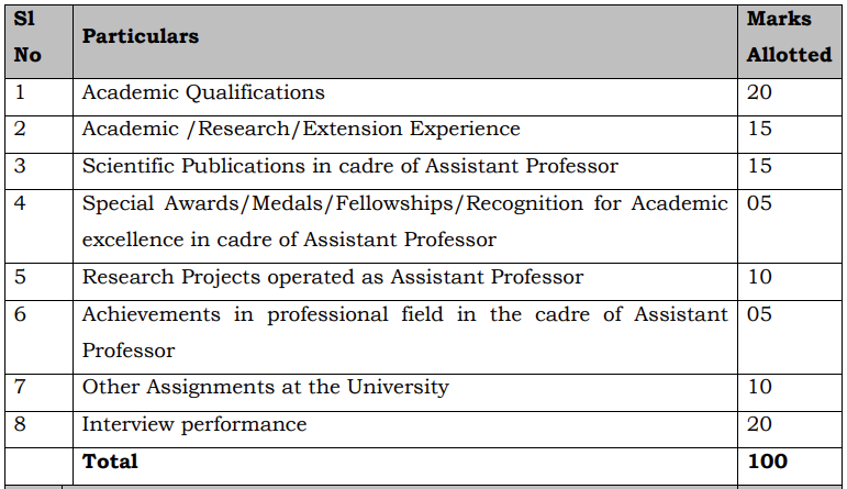 Summary - Associate Professor