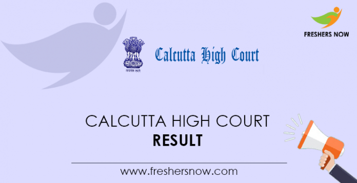 Calcutta-High-Court-Result