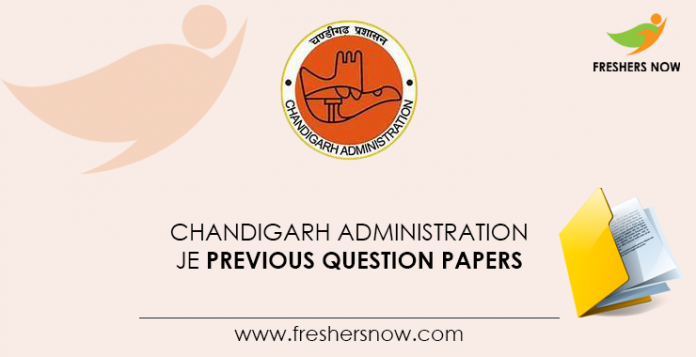 Chandigarh-Administration-JE-Previous-Question-Papers
