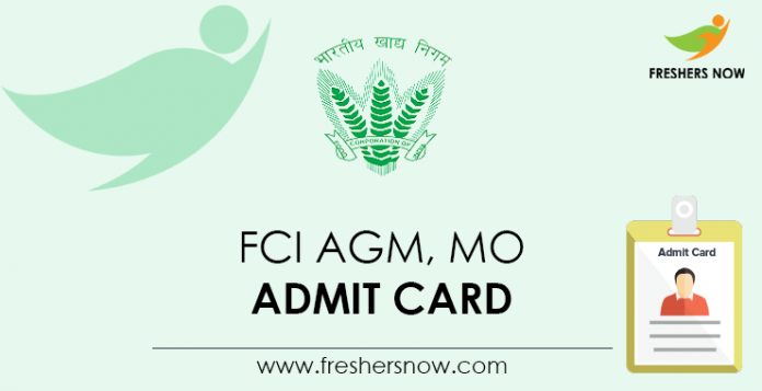 FCI-AGM,-MO-Admit-Card
