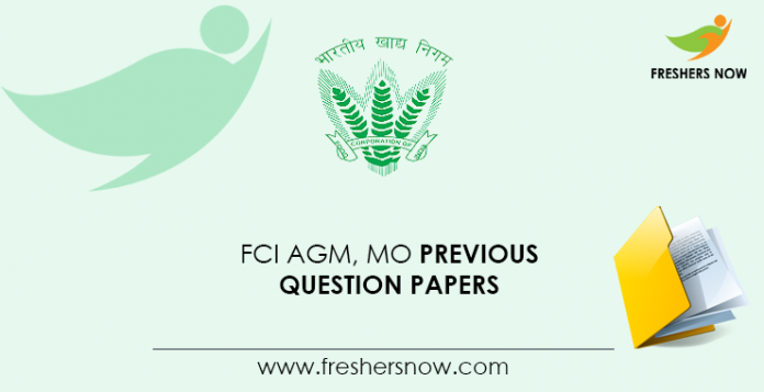 FCI-AGM,-MO-Previous-Question-Papers