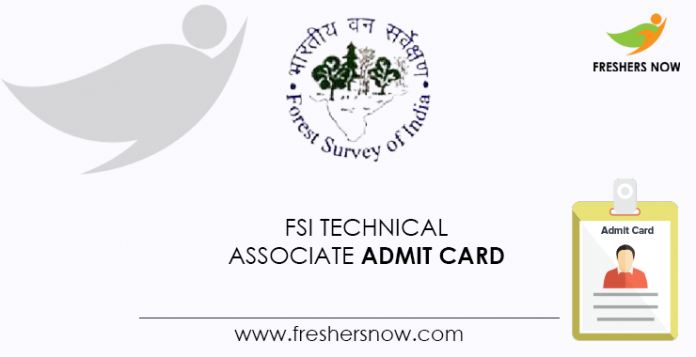 FSI-Technical-Associate-Admit-Card