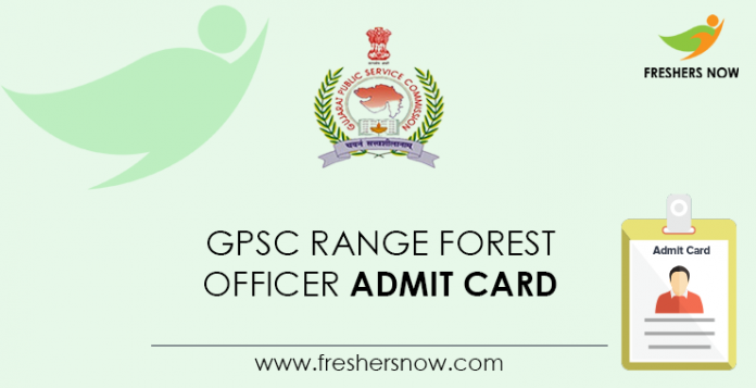 GPSC-Range-Forest-Officer-Admit-Card