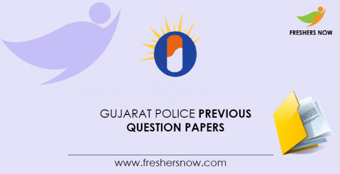 Gujarat Police Previous Question Papers