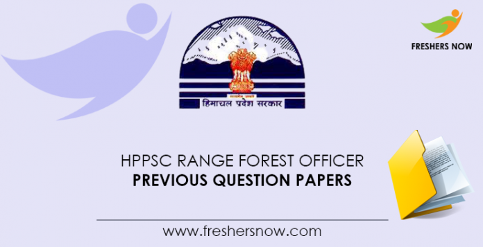 HPPSC Range Forest Officer Previous Question Papers