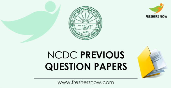 NCDC-Previous-Question-Papers