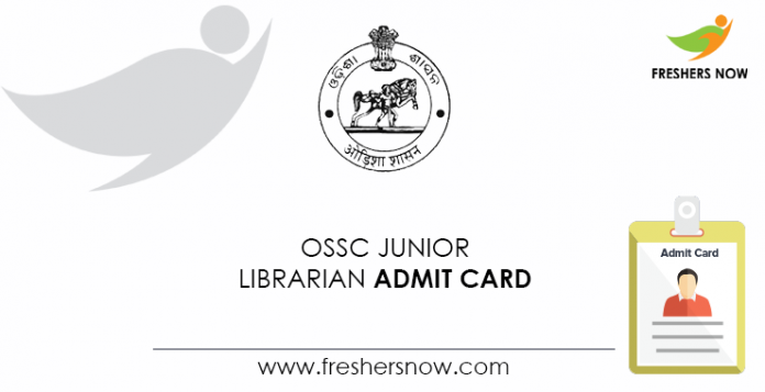 OSSC-Junior-Librarian-Admit-Card