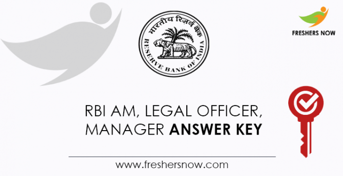 RBI-AM,-Legal-Officer,-Manager-Answer-Key