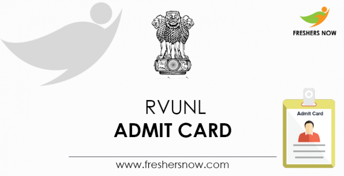 RVUNL-Admit-Card