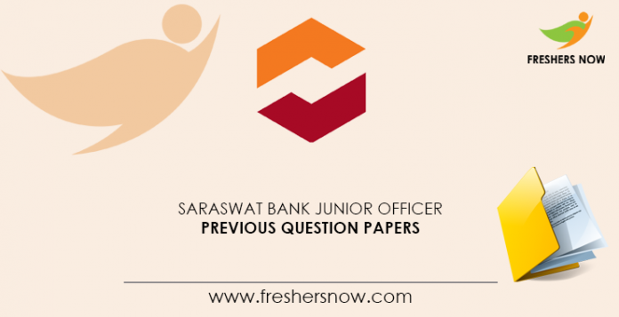 Saraswat-Bank-Junior-Officer-Previous-Question-Papers