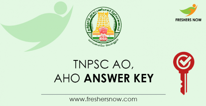 TNPSC-AO,-AHO-Answer-Key