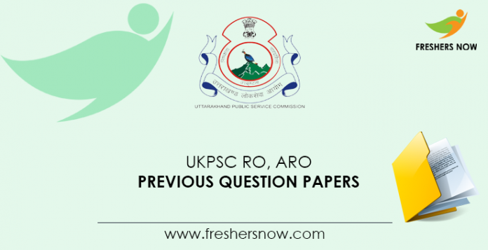 UKPSC-RO,-ARO-Previous-Question-Papers