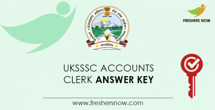 UKSSSC-Accounts-Clerk-Answer-Key