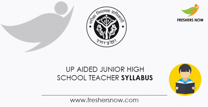 UP Aided Junior High School Teacher Syllabus
