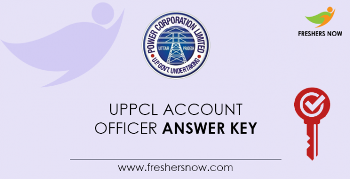 UPPCL-Account-Officer-Answer-Key