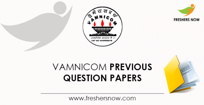 VAMNICOM Previous Question Papers