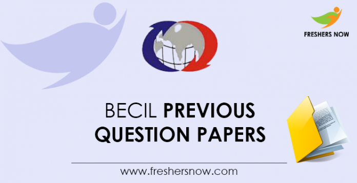 BECIL-Previous-Question-Papers
