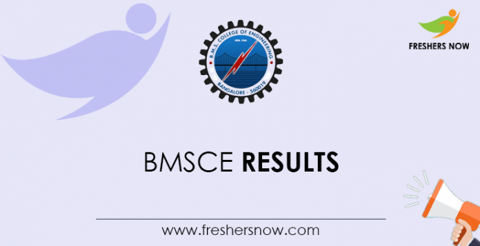 BMSCE Results