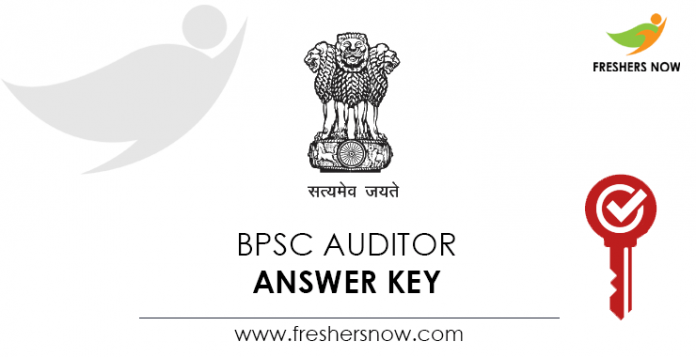 BPSC-Auditor-Answer-Key