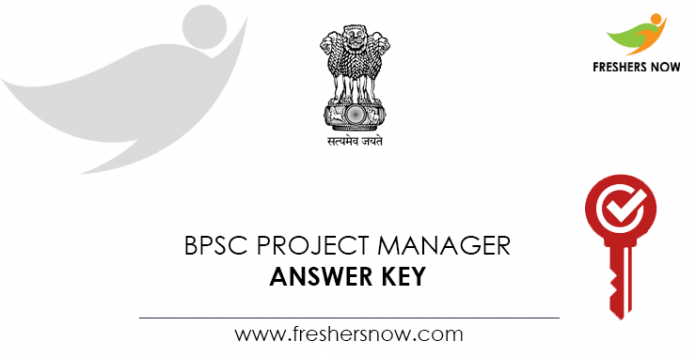 BPSC-Project-Manager-Answer-Key