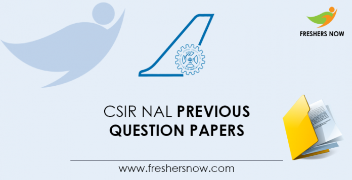 CSIR-NAL-Previous-Question-Papers