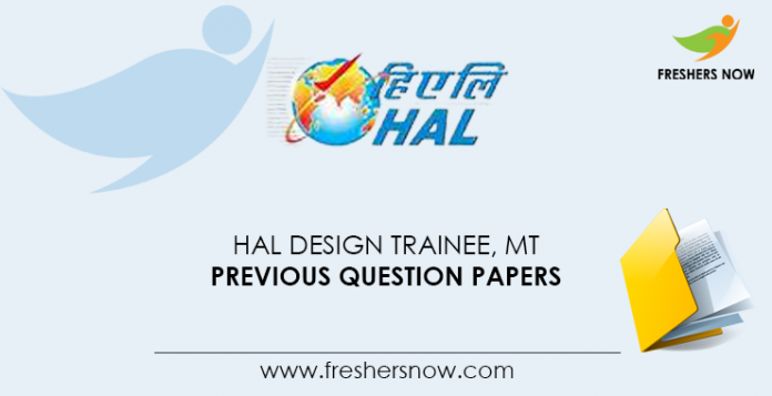 HAL-Design-Trainee,-MT-Previous-Question-Papers